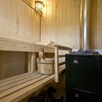 Sauna finlandesa / Finnish sauna
