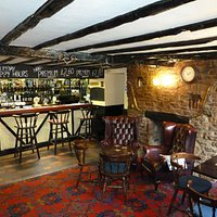 View of the bar area at the Carpenter's Arms, Irchester