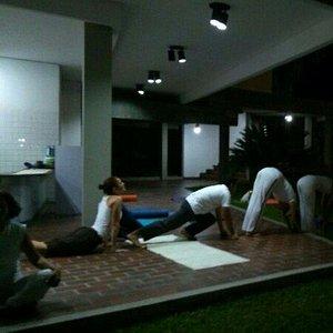 Yoga en el soto