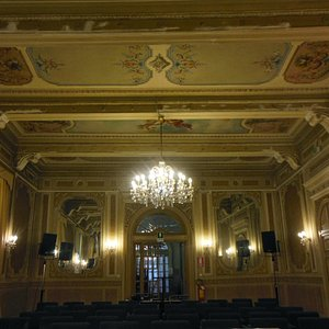 Sala concerti del Conservatorio Ghedini di Cuneo