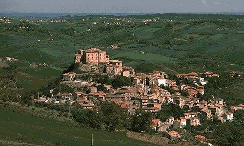 Vista generale del Borgo