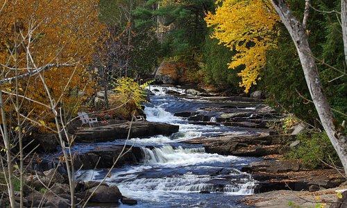 Fall colors looking on Rivière à Simon