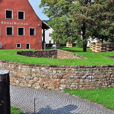 Romarmuseet är uppfört på en litet romerskt fort