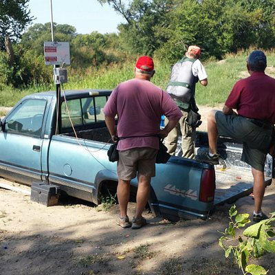 A creative station from Shady Creek Sporting Clays
