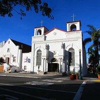 Linda igreja em Little Italy