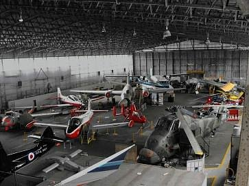 Wide range of aircraft on display
