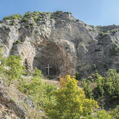 Grotta d'oro, Roccaporena, Cascia