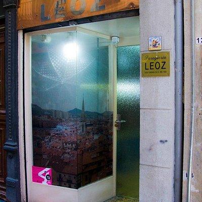 Imagen del establecimiento durante el concurso de escaparates de Bilbao