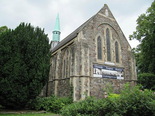 1881 chapel built for the patients and now Glenside Hospital Museum