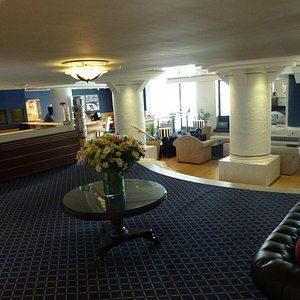 Interior of the Peninsula All Suites Hotel Capetown
