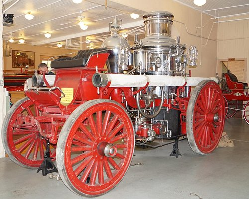 Old horse drawn fire wagon