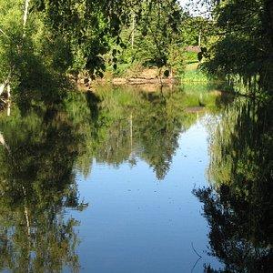 Piste n° 6  Passage de l'étang