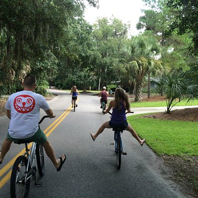 Atlantic Bike Rentals keeping us rolling!