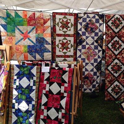 Quilts @ Waistfield Farmers' market