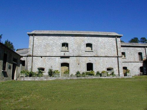 La sala generatori del Forte