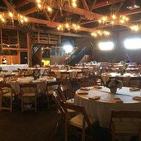 Room set up for a wedding