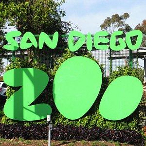 Entrada do zoo que fica ao lado do Balboa Park