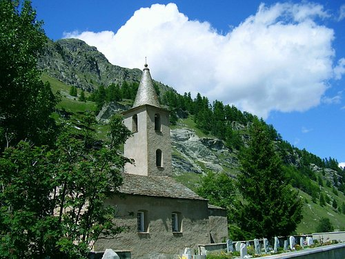 church, near St. Moritz