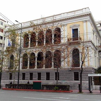 Здание музея нумизматики