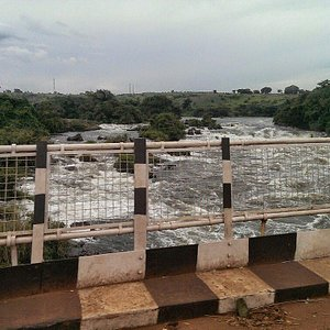 Karuma Bridge. Check out the white water!