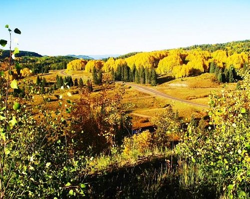 Cumbres Pass in the Fall