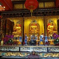 3 Buddhas , Po Lin Monastery.