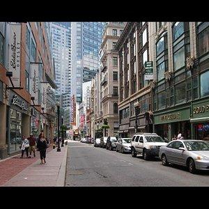 Washington Street, Boston,Massachusetts
