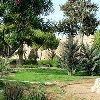 Famagusta: Desdemona Park (im Hintergrund: Othello-Turm)