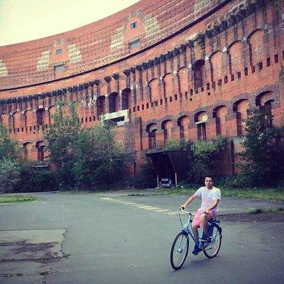 biking to the  Documentation Centre