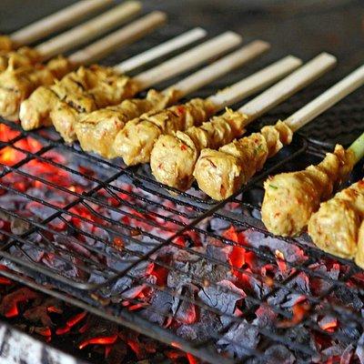 anika cooking class - balinese satay