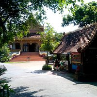 main temple with main gate