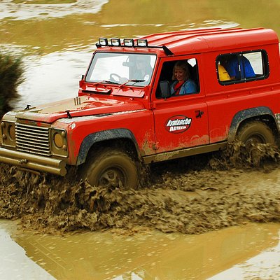 Off road Land Rover Defender Tuition