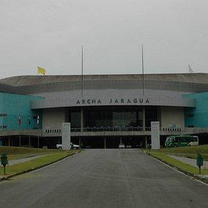 Vista Frontal da Arena Jaragua