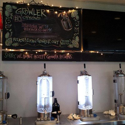 Growler fill station!