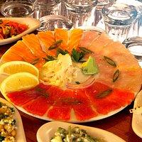fish crpachio
