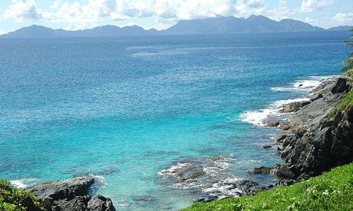 Overlook to Mahe island