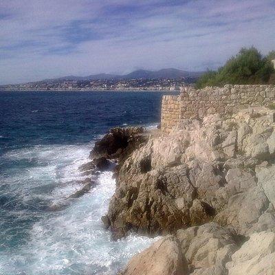 Sentier littoral Nice