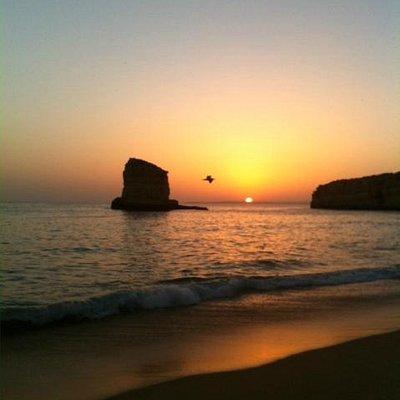 Beautiful Sunset at Praia dos Caneiros