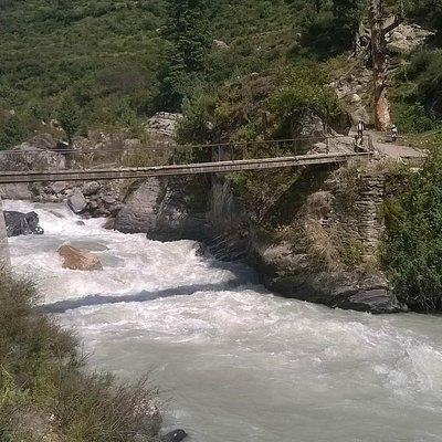 first bridge  on trek