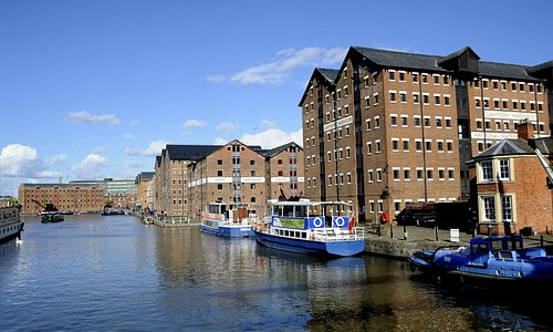 Gloucester Waterways Museum is at the heart of Gloucester Docks