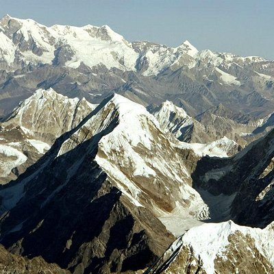 Scenery from  Everest Mountain Flight