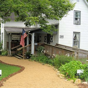 The Museum is located in the England-Patton House built in 1890 by Thomas England.