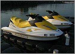 Jet-skis are a blast at Plymouth Watersport