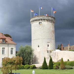 Archives Tower, Vernon, France, August 2014