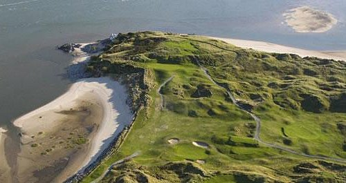 Stunning View of back 9 and Samson's Bay
