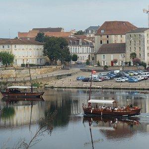 The Quay in Bergerac