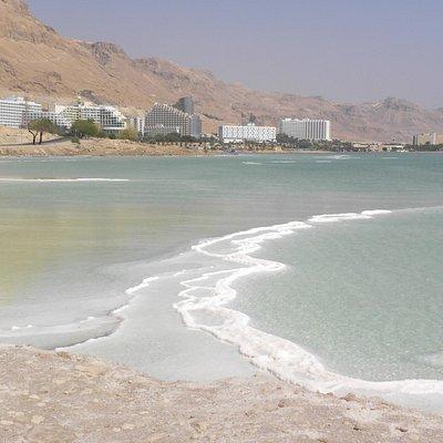 a sud di Ein Bokek Mar morto israele