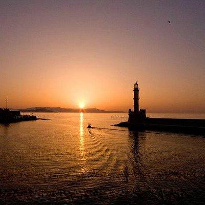 Lighthouse at Venetian Harbor