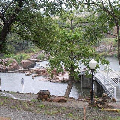 Scenery in Medicine Park