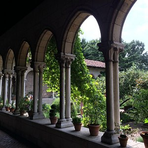 The Cloisters inside